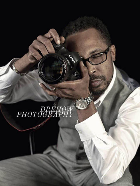 Andre Howard, professional photographer at DreHow Photography
